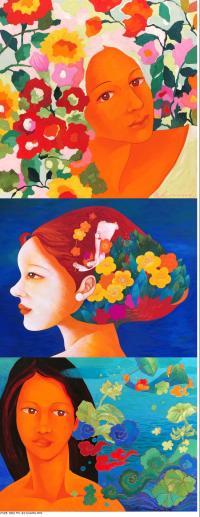 유디갤러리에서 전하는 화사한 봄..한국화가 정향심 개인전 개최