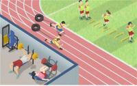 경기력을 유지하고 승률을 향상시키는 고강도 체력훈련