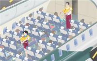 비상 시, 승객의 안전을 책임집니다!