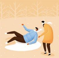 [메디체크]겨울철 꽁꽁 언 빙판길 조심! 낙상과 골절